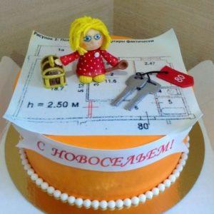 Торт с домовёнком Кузей