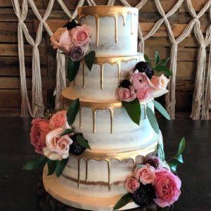 Торт золотая сладость