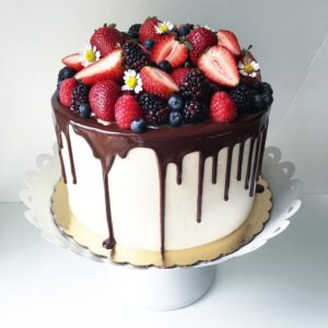 Торт полит шоколадом