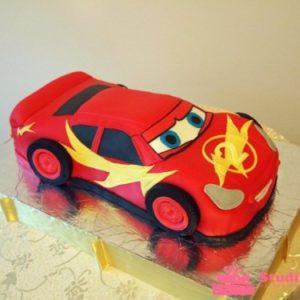 Торт у вигляді машини Маквін