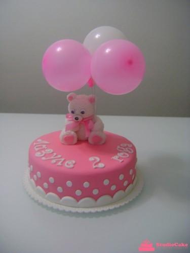 Детский торт на заказ с медвежонком