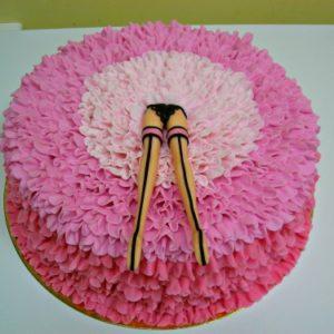 Торт «Кремова жіноча цікавість»