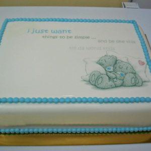 Торт «Крепкая любовь»