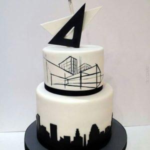 Торт «Белоснежный замок»