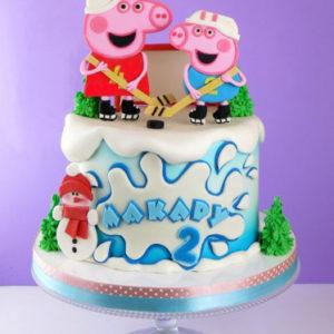 Торт «Свинка Пеппа»