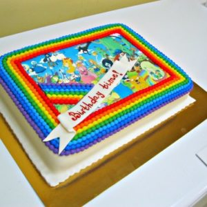 Торт «Время приключений»
