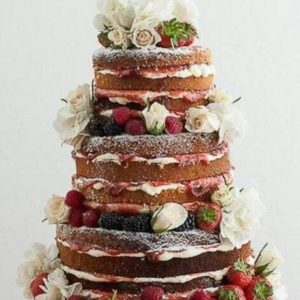 Современный торт
