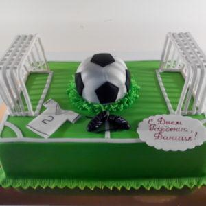 Тортик на футбольную тематику