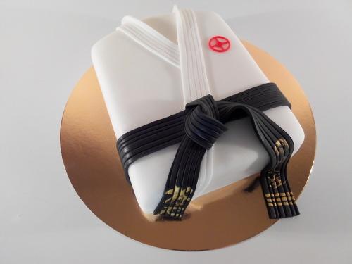 Корпоративный торт на заказ - кимоно