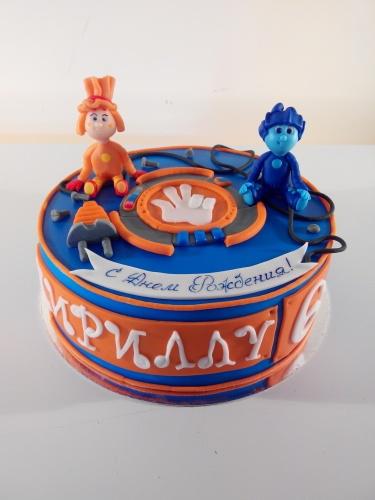 Детский торт на заказ - Фиксики
