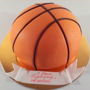 Торт «Баскетбольный мяч»