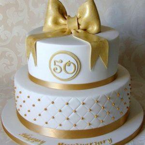 Торт 50 лет.