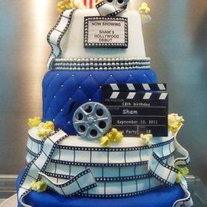Торт тематический Голливуд