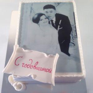 Торт «Годовщина прекрасной пары»