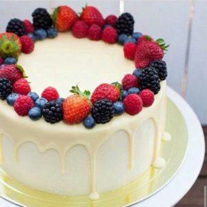 Торт с эмблемой ВМW