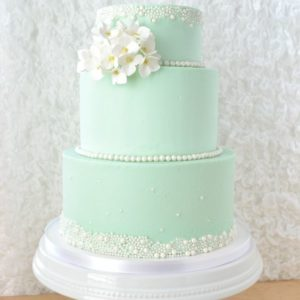 Изысканный свадебный торт