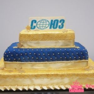 «Королівський» торт у формі прямокутників