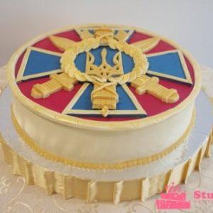 Торт с гербом СБУ