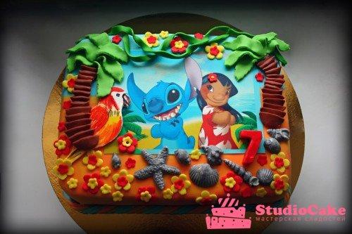 Фотопечать на торте