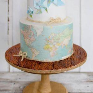 Торт Весь мир у твоих ног