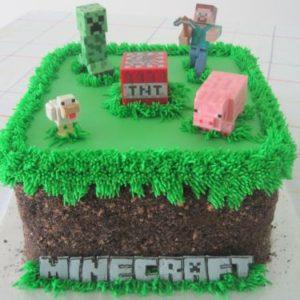 Тортик «Minecraft»