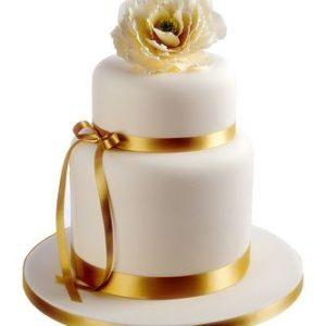 Торт Золотая лента