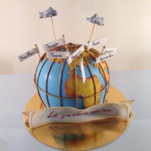 Торт «Земной шар»