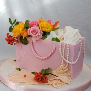 Торт для дамочки