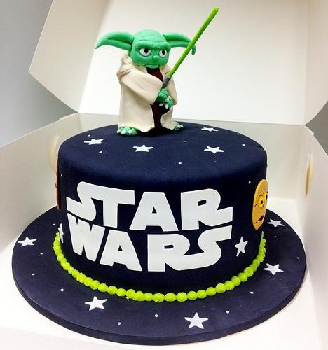 детские торты фото звездные воины