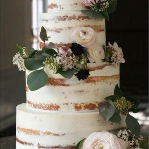 Чотирьох ярусний відкритий торт