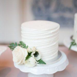 Кремовый торт один ярус