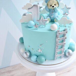 Торт с цифрой для мальчика