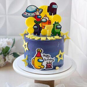 Іменний торт для хлопчика