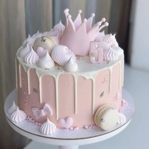 Торт для дівчинки на 5 років