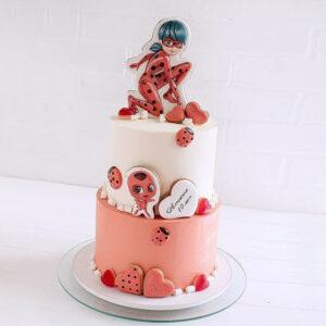 Торт с пряниками Леди Баг