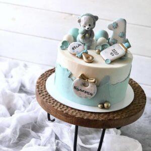 Торт «Вес и рост ребенка»