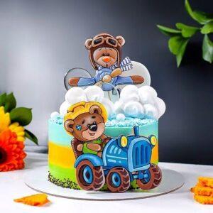 Дитячий тортик з ведмедиками