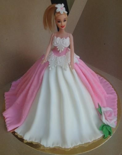 Детский торт на заказ - Кукла Барби