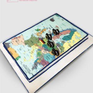 Торт карта Європи