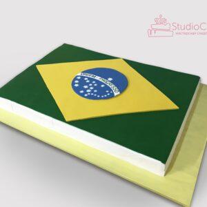 Торт «карта Бразилії»