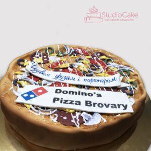 Торт у вигляді піци