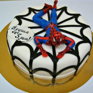Торт «Человек паук»