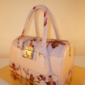 Торт «Дамская сумочка»