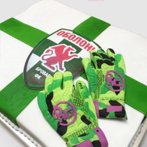 Торт для спортивного клуба