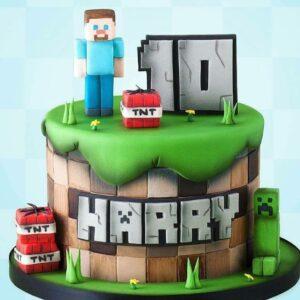 Торт на 10 років хлопчикові