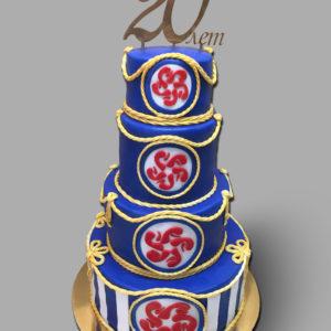 Торт на 20 лет