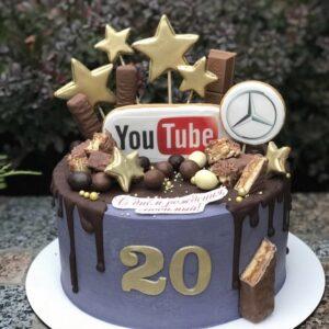 Торт на 20 лет парню