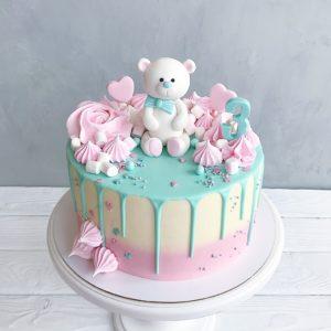 Торт на 3 роки дівчинці