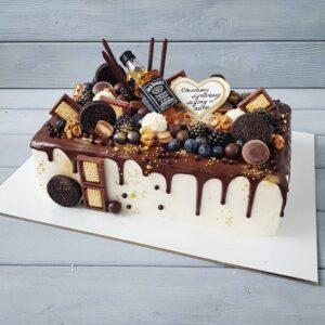 Торт чоловіку на день народження