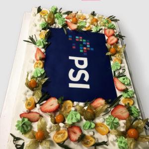 Торт прямокутний зі свіжими фруктами